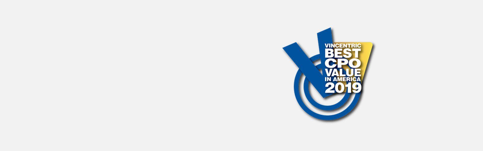 Logo de Vincentric CPO Vale in America.