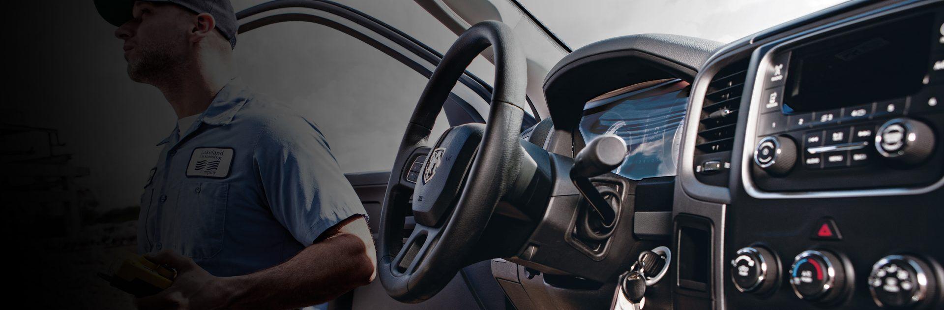 Interior de las camionetas Ram Chassis Cab 2018