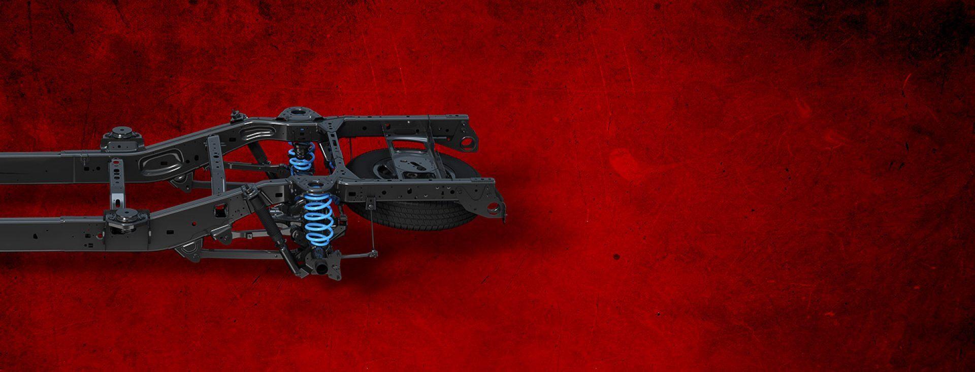 Nueva Ram 15002019 con chasis de acero de alta resistencia