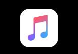 El ícono de Apple Music.