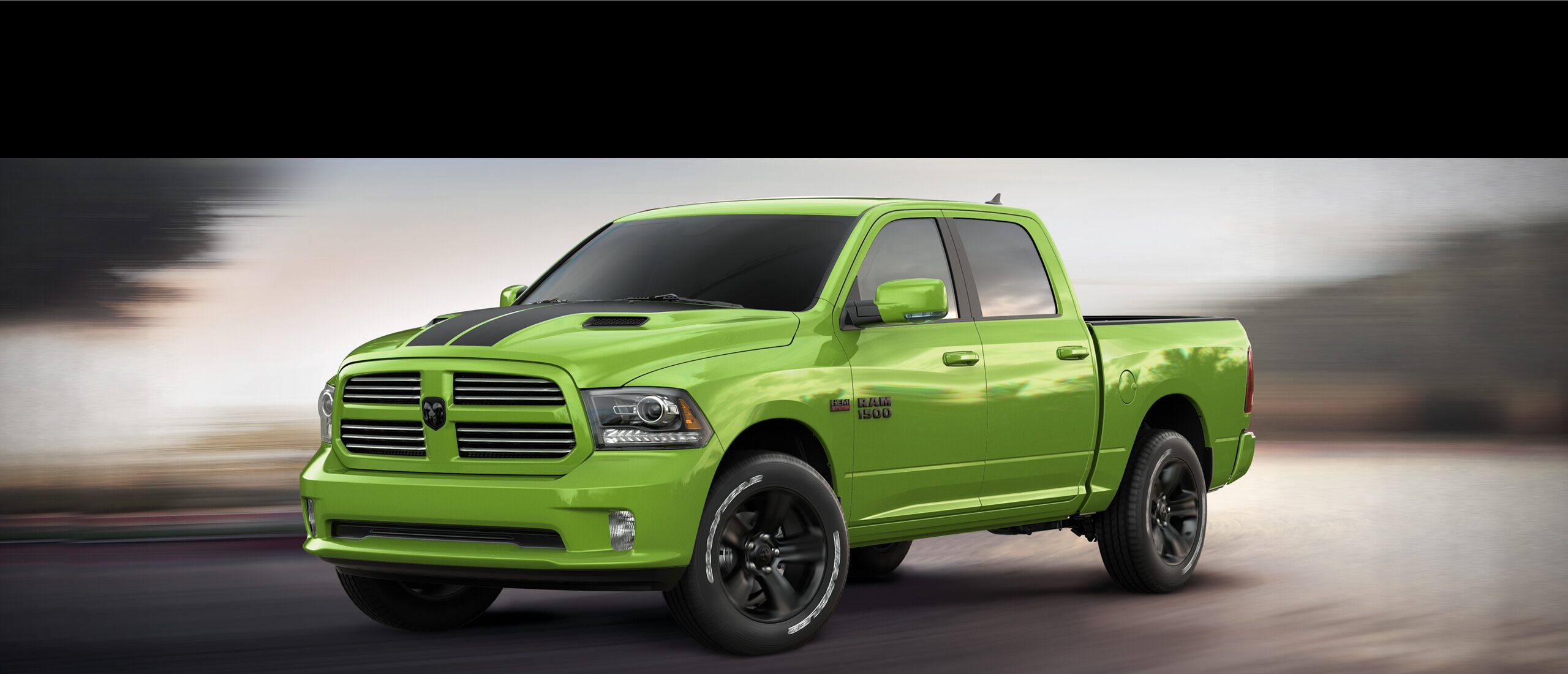 Ram 1500 2017 en Sublime Green