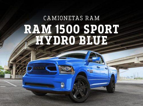 Ram 1500 Sport Hydro Blue 2018