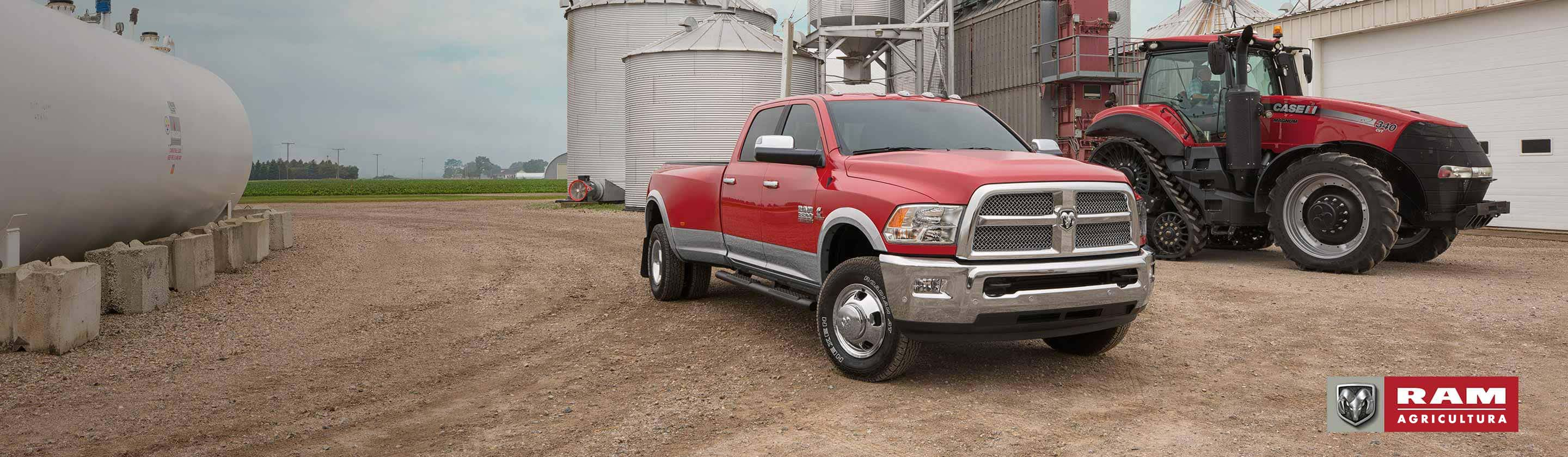 Front 3 quarters Ram Harvest Special Edition