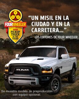 Ram 1500 Rebel: Premio Fourwheeler
